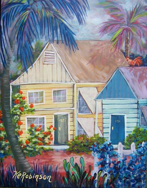 Art: Key West Conch Republic by Artist Ke Robinson