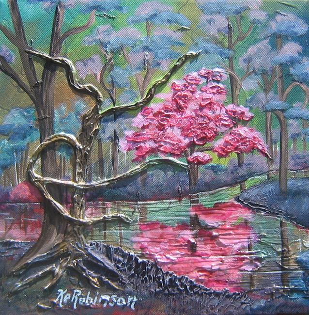 Art: Mystic River by Artist Ke Robinson