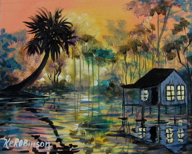 Art: Swamp Paradise 7311 by Artist Ke Robinson