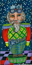 Art: Nutcracker Christmas 12x6 448 m:f by Artist Ke Robinson