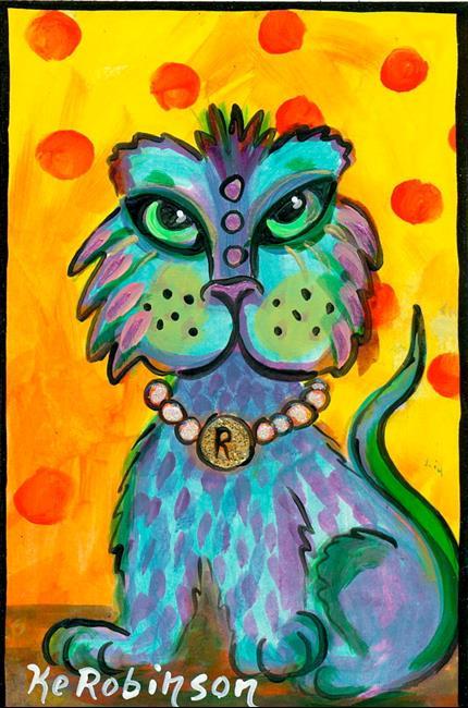 Art: #164 Cat People by Artist Ke Robinson
