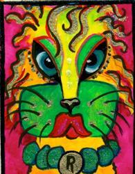 Art: #34 Cat People by Artist Ke Robinson