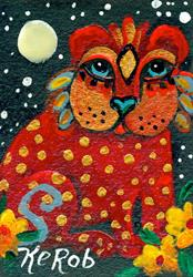 Art: #110 Cat People by Artist Ke Robinson