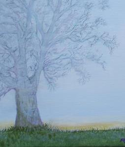 Detail Image for art Maple in Morning Mist