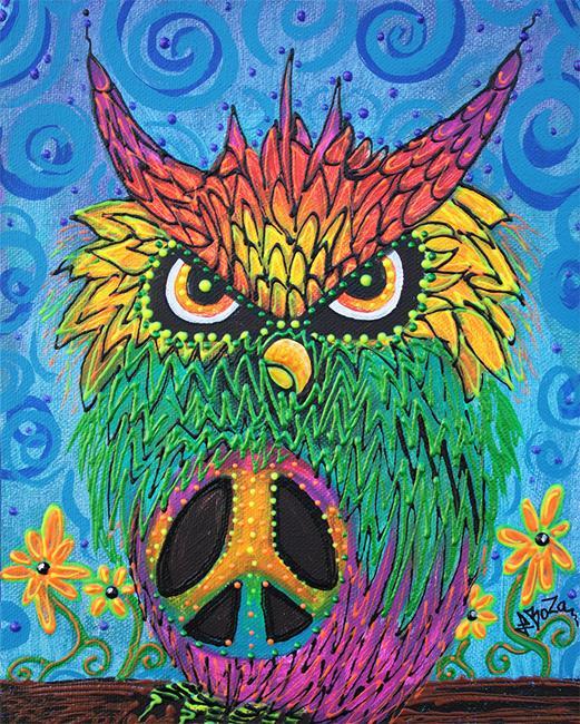 Art: The Hush Owl by Artist Laura Barbosa