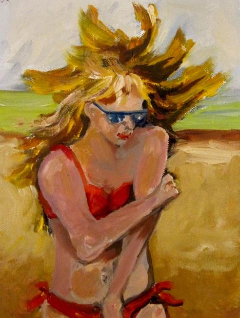 Art: Beach Diva No.2 by Artist Delilah Smith