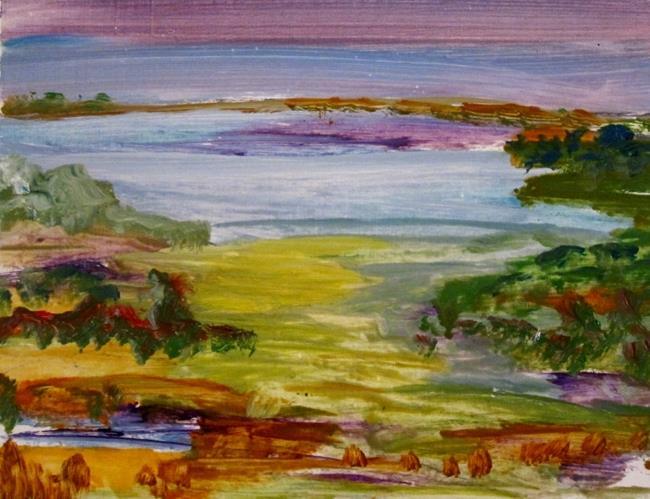 Art: At Lake by Artist Delilah Smith