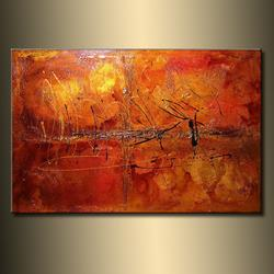 Art: RAIN DANCE 3 by Artist HENRY PARSINIA