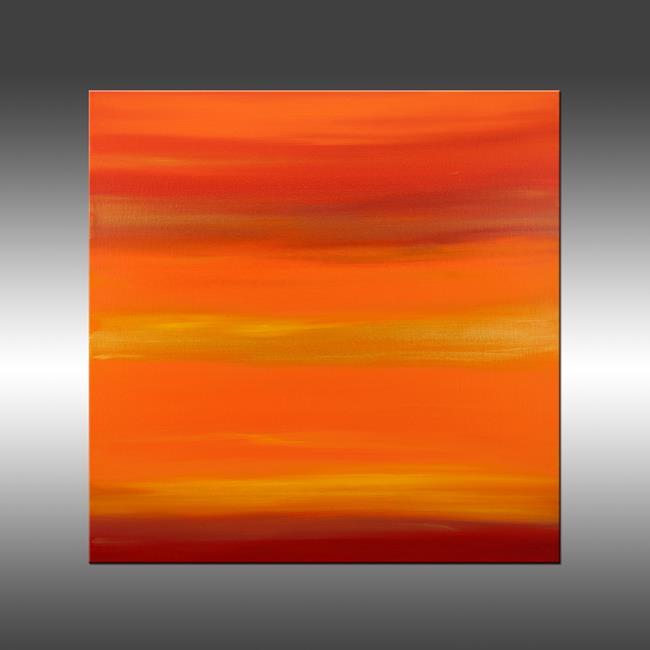 Art: Sunset 20 by Artist Hilary Winfield