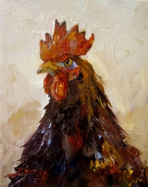 Art: Rooster No. 28 by Artist Delilah Smith