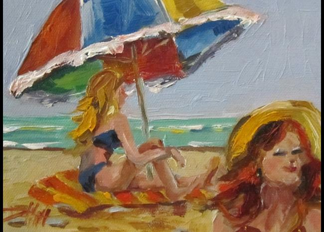 Art: Beach Dreams by Artist Delilah Smith