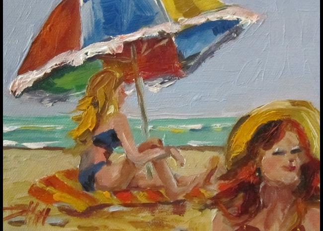 Art: Beach Dreams by Artist Delilah Smith