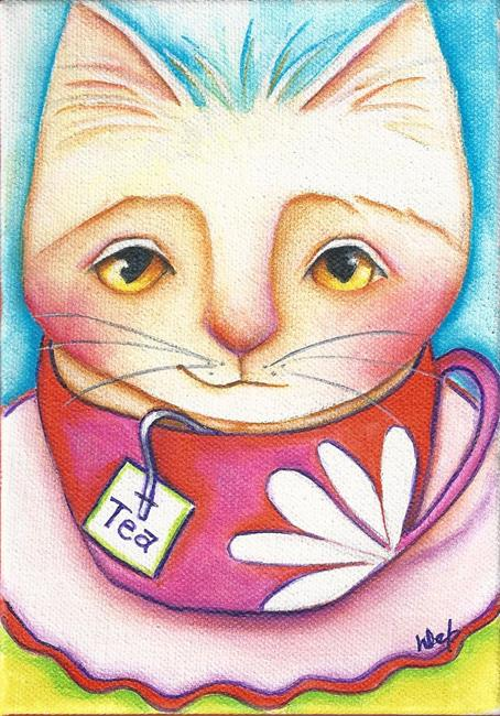 Art: Kit-tea by Artist Deb Harvey