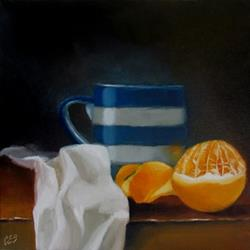 Art: Orange Pekoe, Please by Artist Christine E. S. Code ~CES~