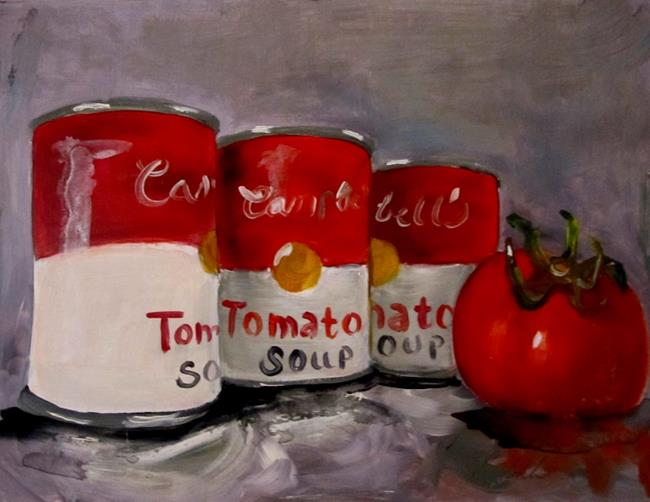 Art: Tomato Soup by Artist Delilah Smith