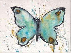 Art: Butterfly 2  - sold by Artist Ulrike 'Ricky' Martin