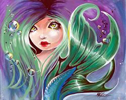 Art: Nereid by Artist Nico Niemi