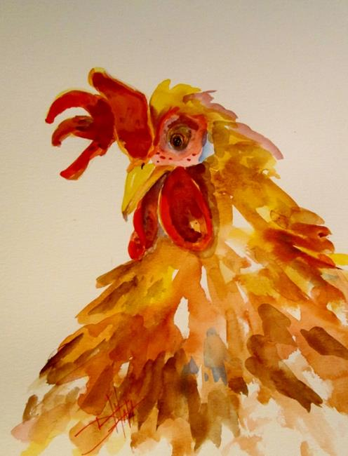 Art: Rooster No.29 by Artist Delilah Smith