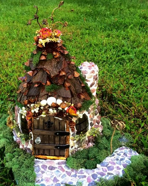 Art: FAIRY HOUSE by Artist Leea Baltes