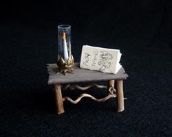 Art: Fairy Table by Artist Leea Baltes