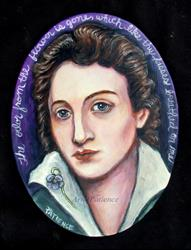 Art: Percy Shelley: On a Faded Violet by Artist Patience