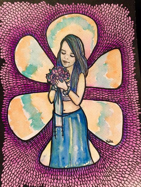 Art: Helina by Artist Nata Romeo ArtistaDonna