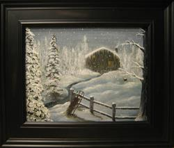 Art: Christmas Morning by Artist J A Blackwell