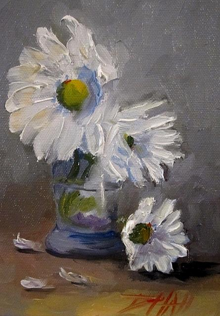Art: Gerber Daisy No.2 by Artist Delilah Smith