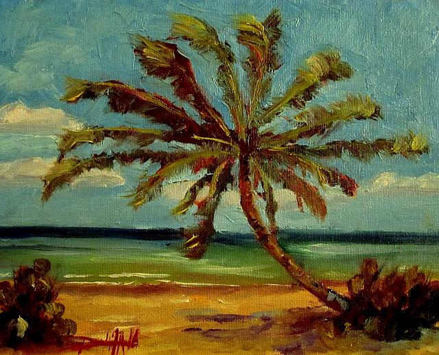 Art: Tropical Breeze by Artist Delilah Smith