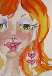 Art: Sweetheart Fairy by Artist Delilah Smith
