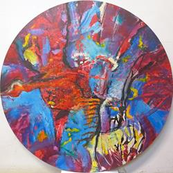 Art: Harmonious Discord by Artist Virginia Ann Zuelsdorf