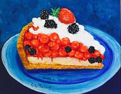 Art: Cherry Berry Pie  - Sold by Artist Ulrike 'Ricky' Martin