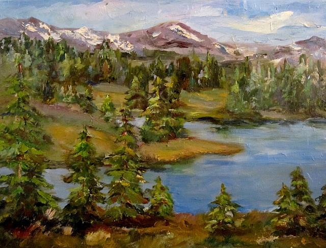 Art: Vista Range by Artist Delilah Smith