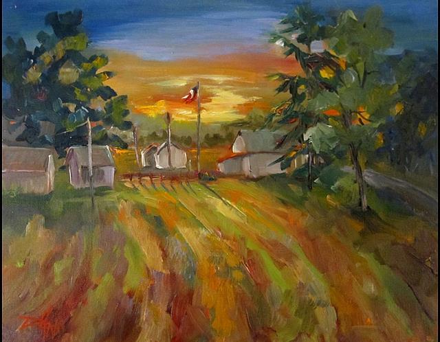 Art: Mornings Early Light by Artist Delilah Smith