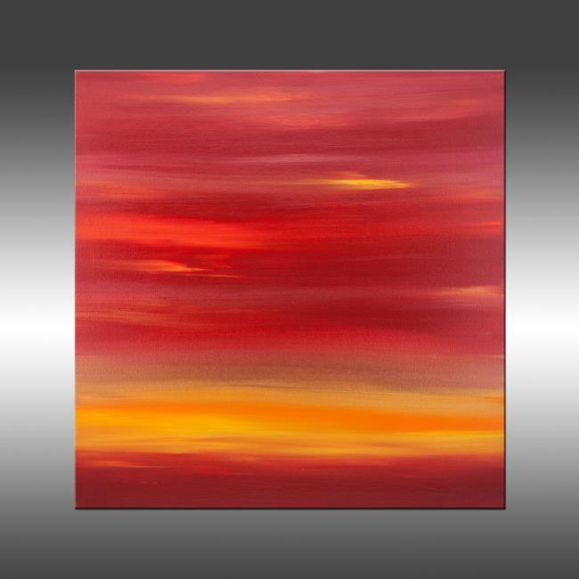 Art: Sunset 19 by Artist Hilary Winfield