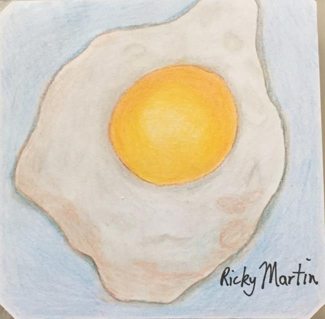 Art: Sunny Side Up by Artist Ulrike 'Ricky' Martin