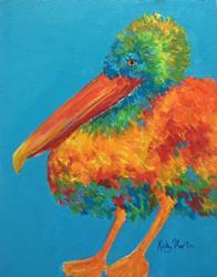 Art: Pelican by Artist Ulrike 'Ricky' Martin