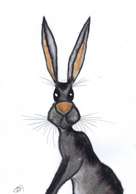 Art: HARE h3086 by Artist Dawn Barker