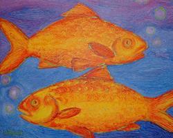Art: Pure Pisces by Artist Lindi Levison