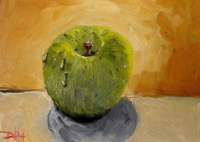 Art: Granny Smith Apple by Artist Delilah Smith