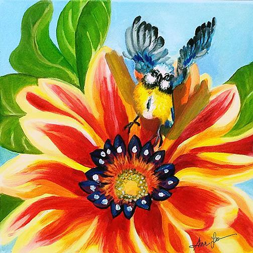 Art: Early Bird by Artist Alma Lee