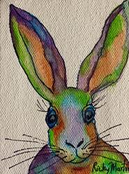 Art: Bunny  - Sold by Artist Ulrike 'Ricky' Martin