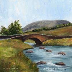 Art: Down by the River by Artist Janet M Graham