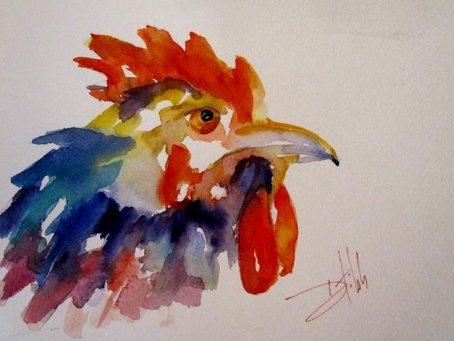 Art: King of the Roost by Artist Delilah Smith