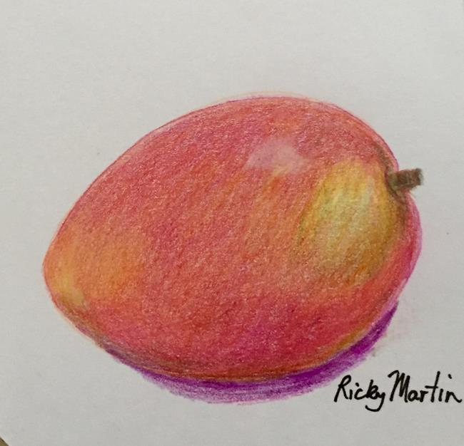 Art: Mango by Artist Ulrike 'Ricky' Martin