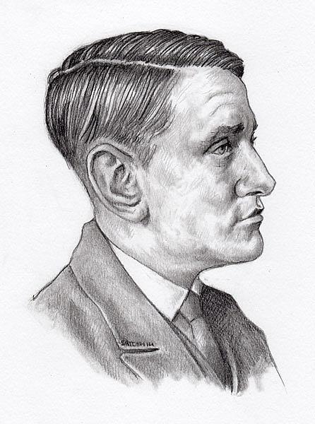 Art: Willem Arondeus 1896 - 1943 by Artist Mark Satchwill