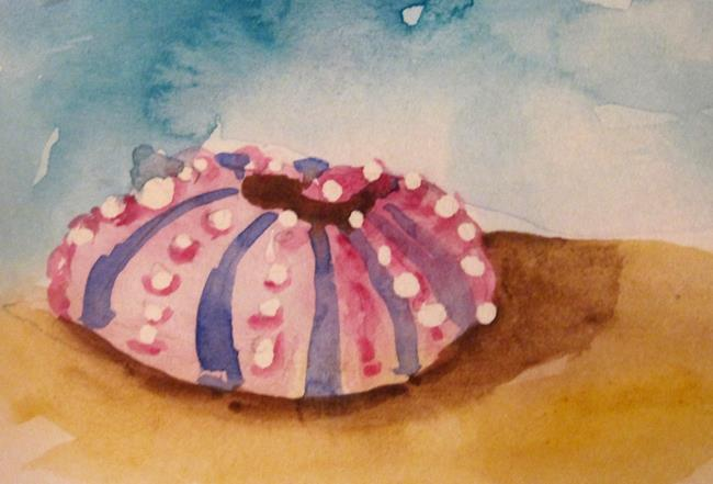 Art: Sea Urchin-sold by Artist Delilah Smith