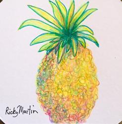 Art: Pineapple by Artist Ulrike 'Ricky' Martin