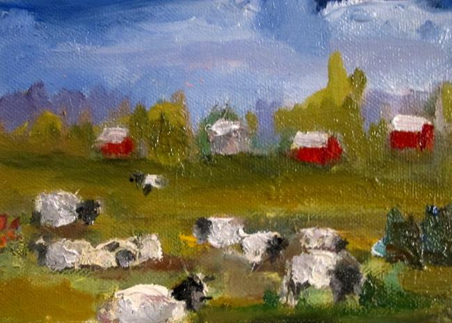 Art: Cows in the Pasture by Artist Delilah Smith
