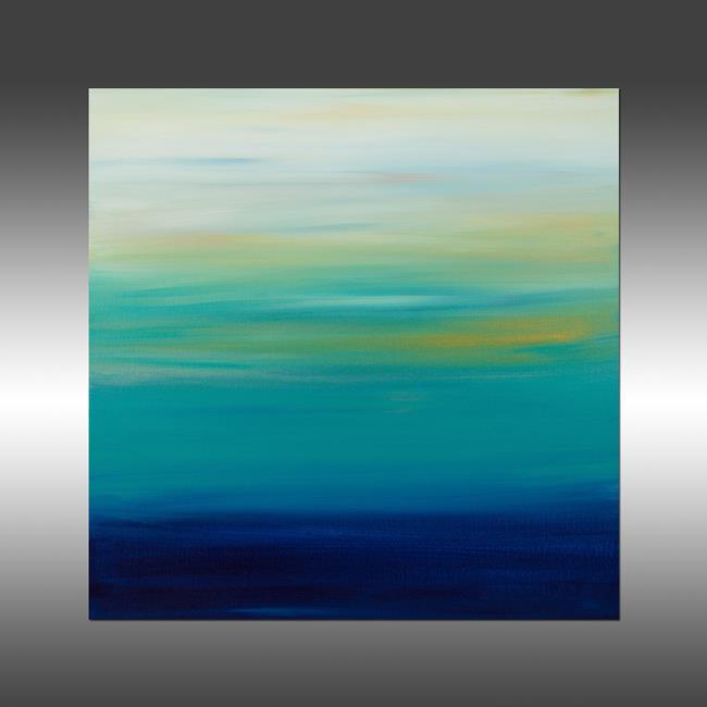 Art: Sunset 27 by Artist Hilary Winfield